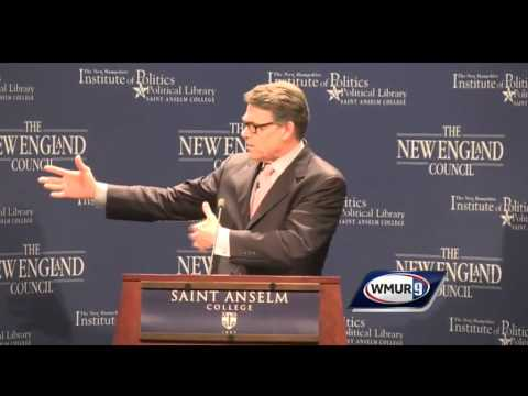 Raw Video: Rick Perry at Politics & Eggs event