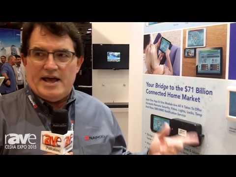 CEDIA 2015: Napco Security Systems Exhibits iBridge Connected Home System