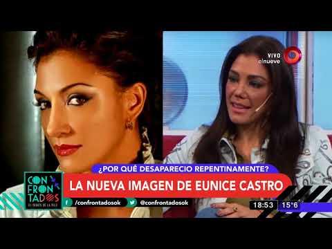 Reapareció Eunice Castro con nueva imagen