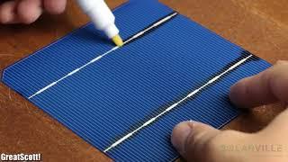 Tự làm tấm pin năng lượng mặt trời 100W