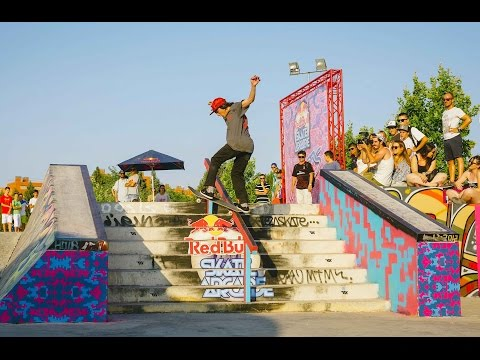 Skateboarding contest in Spain - Red Bull Skate Arcade 2014