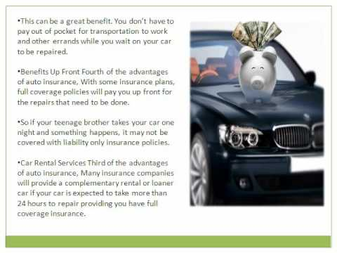 Car Insurance - The Advantages of Car Insurance