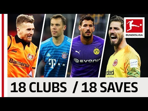 18 Clubs, 18 Saves - The Best Save by Every Bundesliga Team in 2018/19 So Far thumbnail