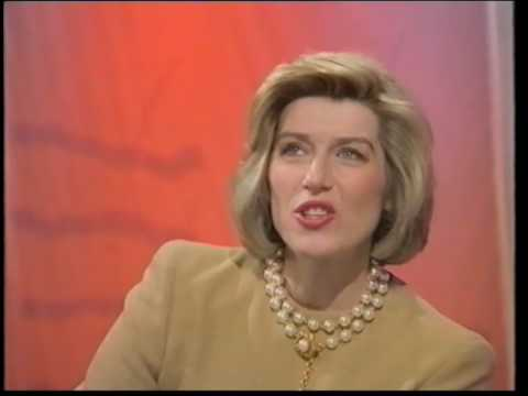 Selina Scott short skirt and tights