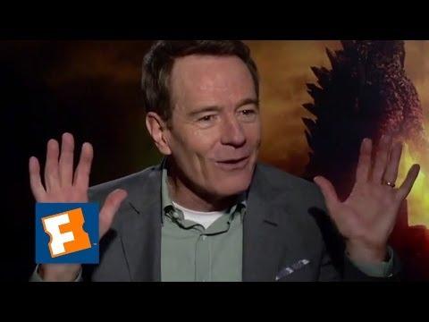 Exclusive: Why Does Bryan Cranston Hate Godzilla?! | FandangoMovies