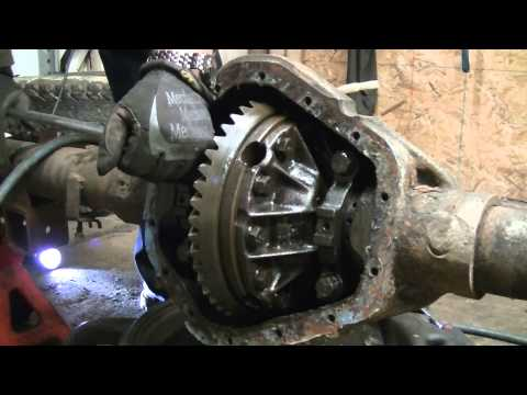 Dissection Of A Chevy 3/4 Ton Rear End