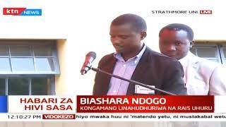 Biashara Ndogo: Kongamano la uwekezaji Strathmore linahudhuriwa na rais uhuru na Naibu wake Ruto