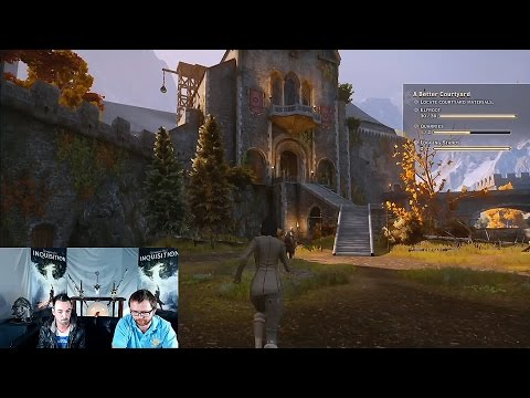 Dragon Age: Inquisition - Skyhold Gameplay - Xbox One - Part 1 of 2