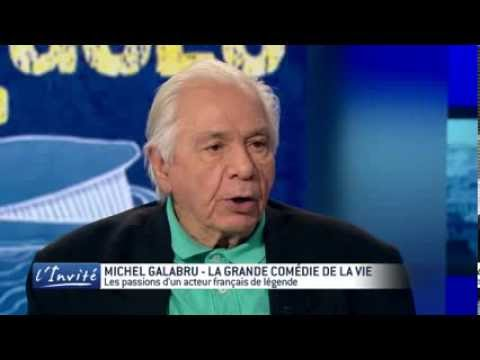 Michel GALABRU se lâche sur Johnny, De Funès et les femmes