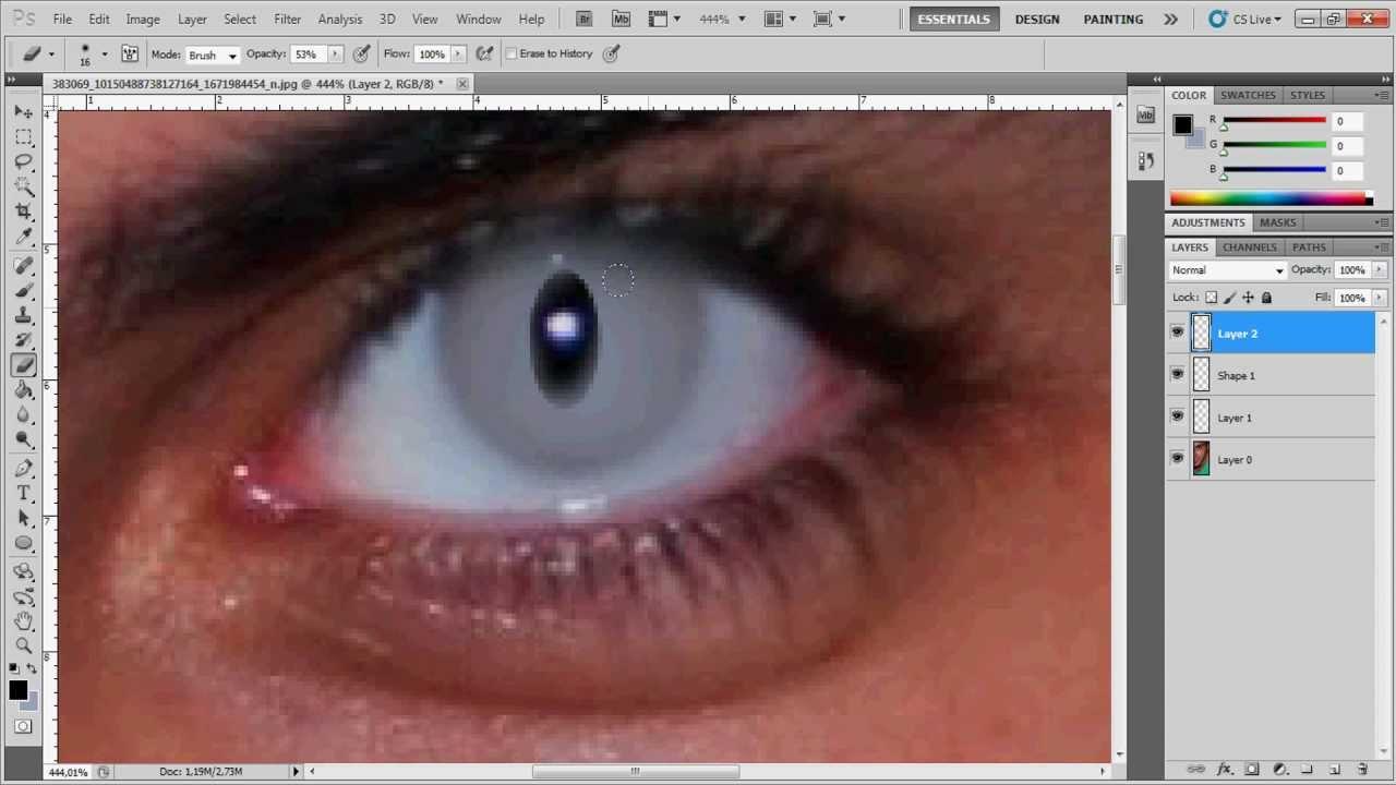 Как себе сделать глаза вампира 277