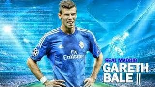gareth bale real madrid skills moves and goals 2013-2014 HD