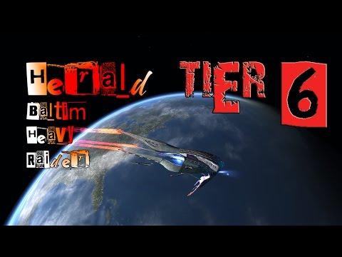 Herald Baltim Heavy Raider [T6] with all ship visuals - Star Trek Online