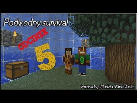 Minecraft Podwodny survival z Madzią #05 HELL !