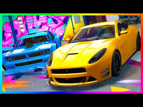 GTA 5 DLC NEW DRIFT TAMPA, LYNX & CLIFFHANGER SPENDING SPREE, CUSTOMIZATION, NEW STUNT RACES & MORE!