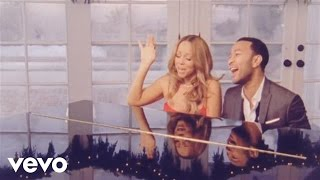 Клип Mariah Carey - When Christmas Comes ft. John Legend