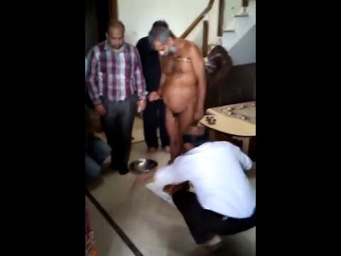 Digamber Jain Muni video