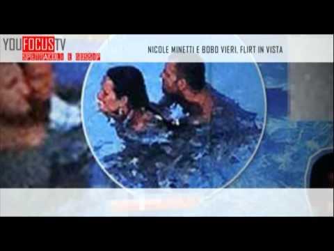 Nicole Minetti e Bobo Vieri, flirt in vista
