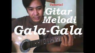 Belajar melodi gitar lagu dangdut  Gala-gala