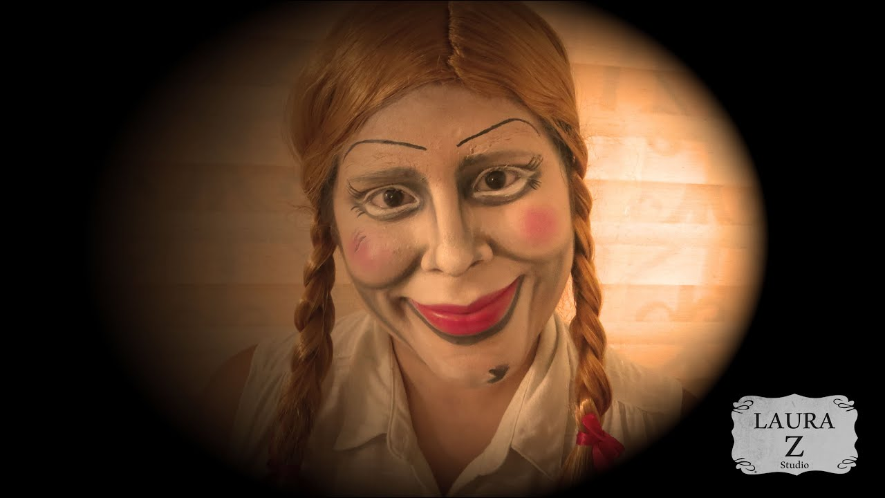 annabelle makeup tutorial quotthe conjuringquot doll