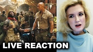 Jumanji Trailer 2 REACTION 2017