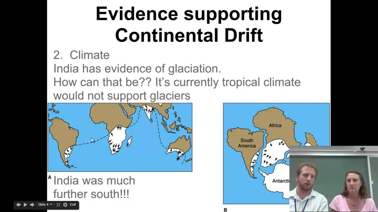the evidence in support of the theory of continental drift essay Full answer continental drift is a theory originally proposed by alfred wegener, who believed the continents were once one large continent known as pangaea that later separated into several continents.