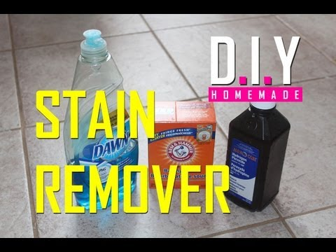 BEST Homemade Stain Remover EVER! DIY. Cheap and EASY!