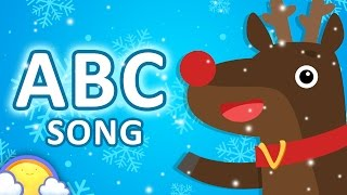 Christmas Alphabet Song for Kids | ABCs, Counting Songs, Finger Family and Games | CheeriToons