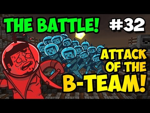 Minecraft: THE BATTLE!!! - Attack of the B-Team Ep. 32 (HD)
