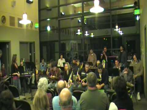 Olympic College Jazz Band plays
