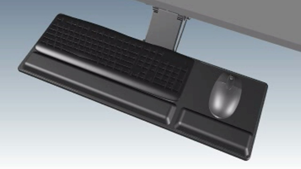 Compact Keyboard Tray