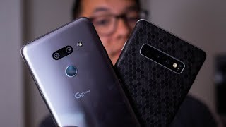 LG G8 ThinQ vs Samsung Galaxy S10+