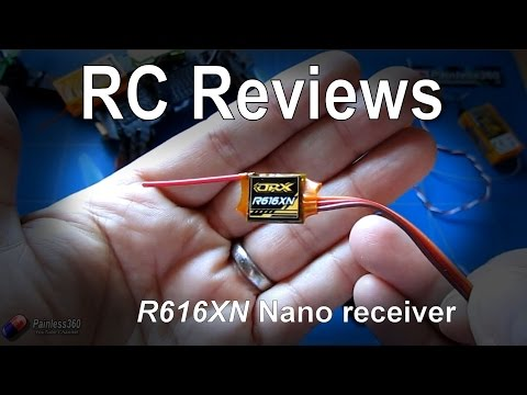 RC Review - HobbyKing R616XN Nano 6 channel receiver with failsafe