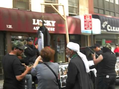 NYC Muslim Day Parade: NYPD vs Gun Toting Thugs