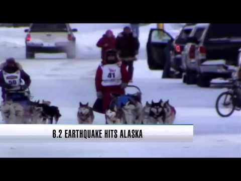 Powerful earthquake rattles Alaska