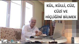 Hasan Akar - Kül, Külli, Cüz, Cüzi ve Hiçliğini Bilmek (Kısa Ders)
