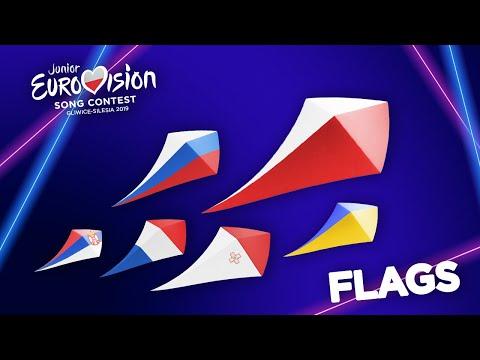 Junior Eurovision 2019 - Flags (Download)
