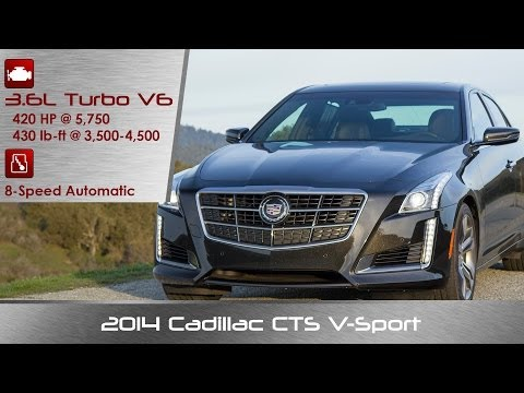 2014 Cadillac CTS V Sport Review and Road Test