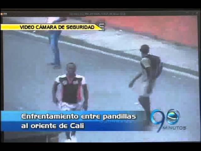 Septiembre 26 de 2011. Guerra de pandillas quedó grabada en video