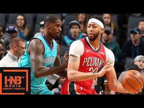 New Orleans Pelicans vs Charlotte Hornets Full Game Highlights / Jan 24 / 2017-18 NBA Season