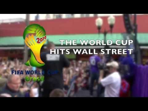 World Cup at Wall Street with Kaká