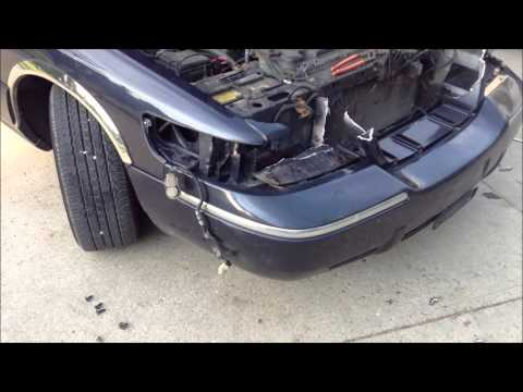 2000    Mercury       Grand       Marquis    Header Panel Removal  YouTube