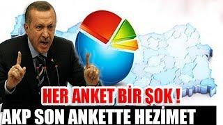 Şok anket sonuçları! AKP hezimete uğruyor! Bomba rakamlar