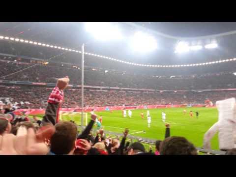 01.03.2014 FC Bayern 5-1 FC Schalke 04, 3' Alaba Goal