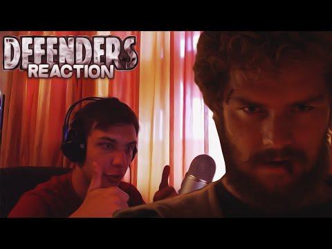 "Reaction | SDCC Тизер-Трейлеры ""Marvel's Netflix Projects"""