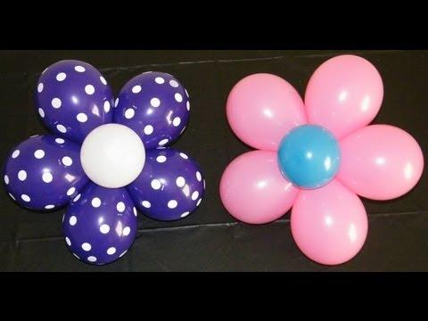 Цветы шарики своими руками фото