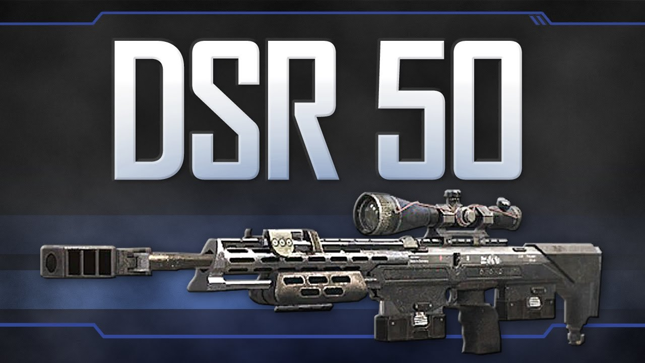 Dsr 50 Black Ops 2 Weapon Guide Youtube