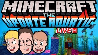 MINECRAFT Aquatic Update 1.13 + Realms| Family Friendly Gaming & Games (Live Stream)