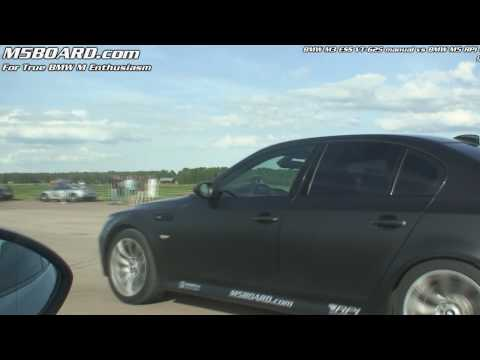 BMW M5 RPI exhaust V10 vs BMW M3 ESS VT-625 manual 6-speed