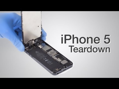 iPhone 5 Teardown - Step by step complete disassembly directions