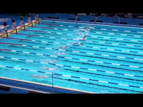 Jeff Commings 100 breast at 2012 U.S. Olympic Swimming Trials